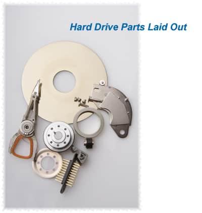 hard drive parts