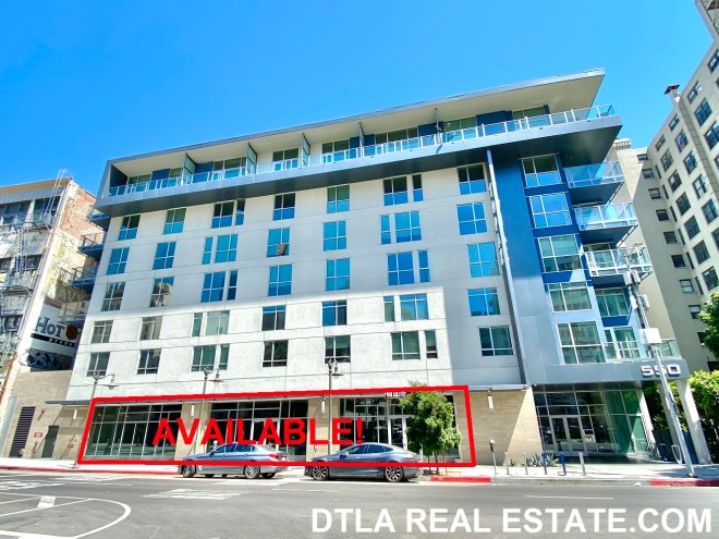 Topaz Building Main Street Retail For Lease In Dtla Downtown Los Angeles Commercial Real Estate Dtla Office Space More