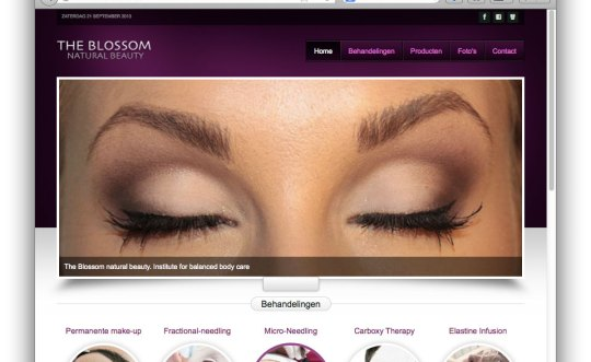 Website Beauty Salon