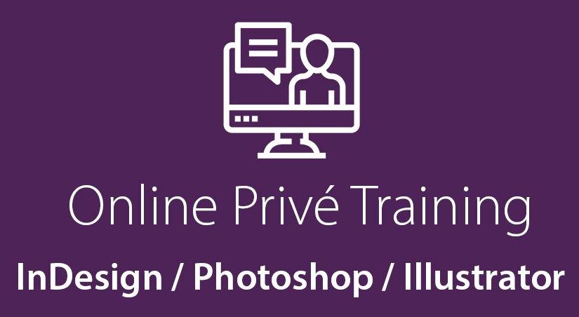 Online privé DTP cursus
