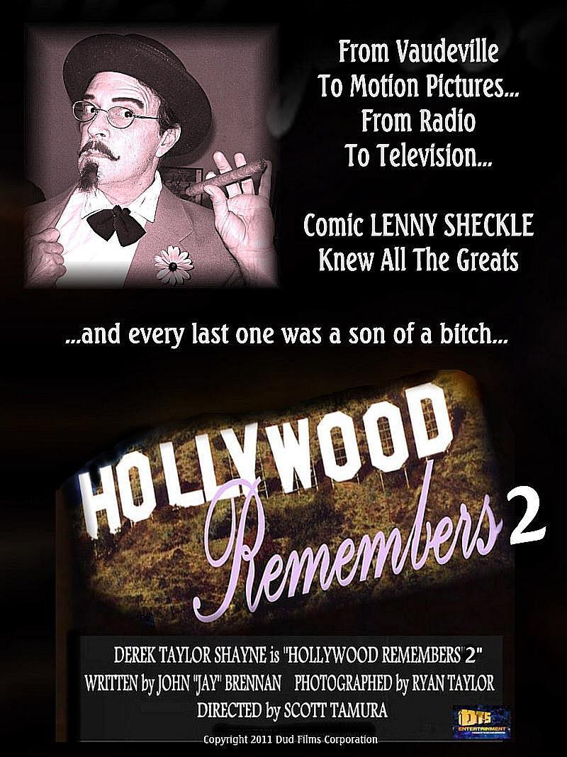"Poster for the DTS Entertainment Comedy Film, ""Hollywood Remembers 2"""