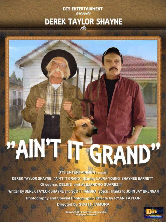 "Poster for the DTS Entertainment Comedy Film, ""Ain't It Grand"""