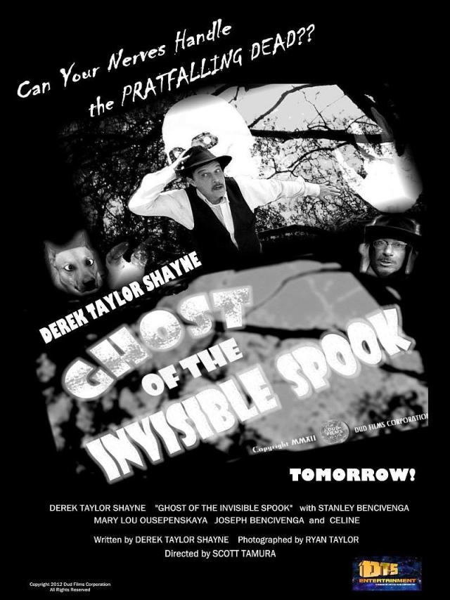 "For the DTS Entertainment Comedy Film, ""Ghost of the Invisible Spook"""
