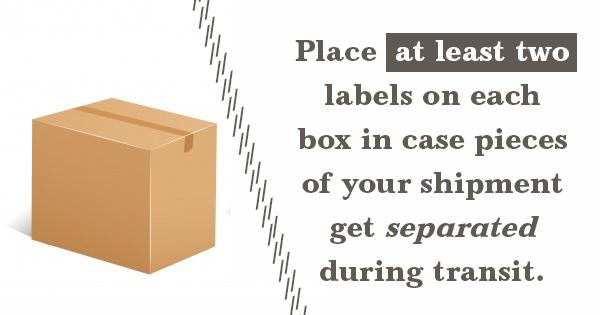 trade show shipments