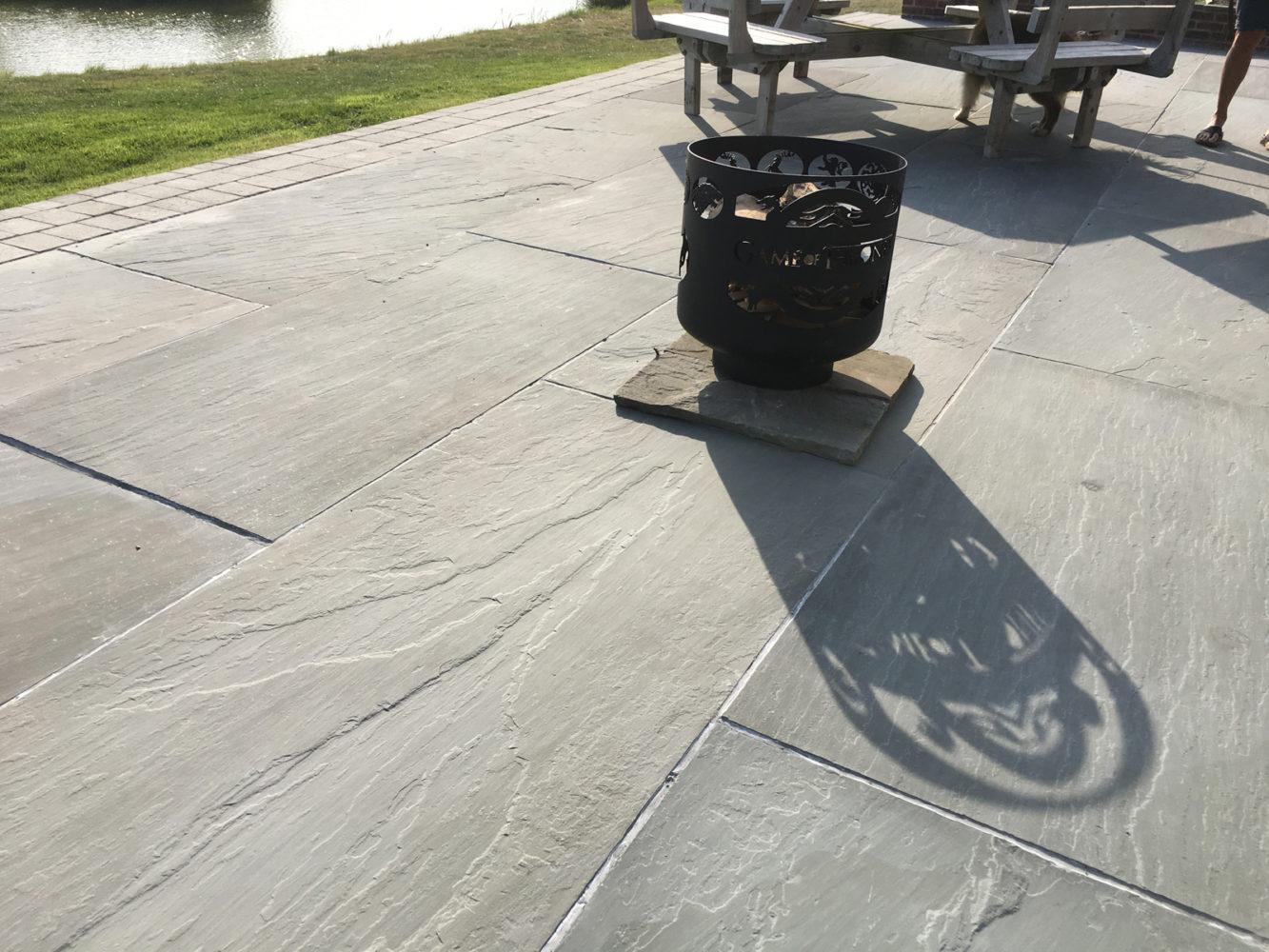 dove grey sandstone large slab