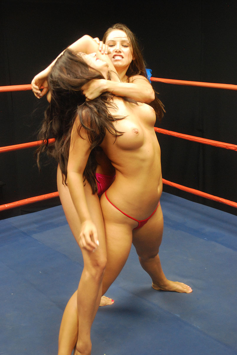 Mixed Wrestling Girl Dominated