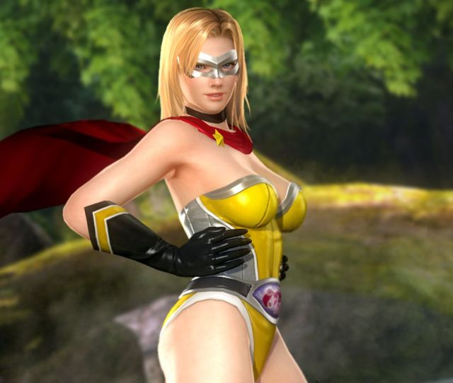 Dead Or Alive  Last Round Dlc Screenshots Show Super Sexy And Super Costly Superhero Costumes