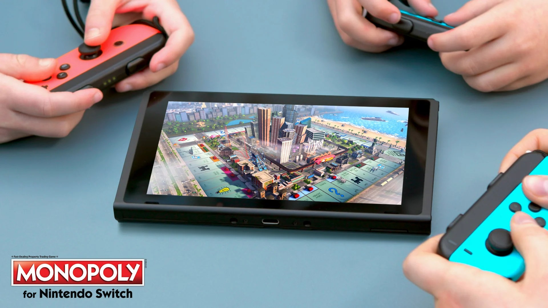 Monopoly For Nintendo Switch Released Today By Ubisoft And