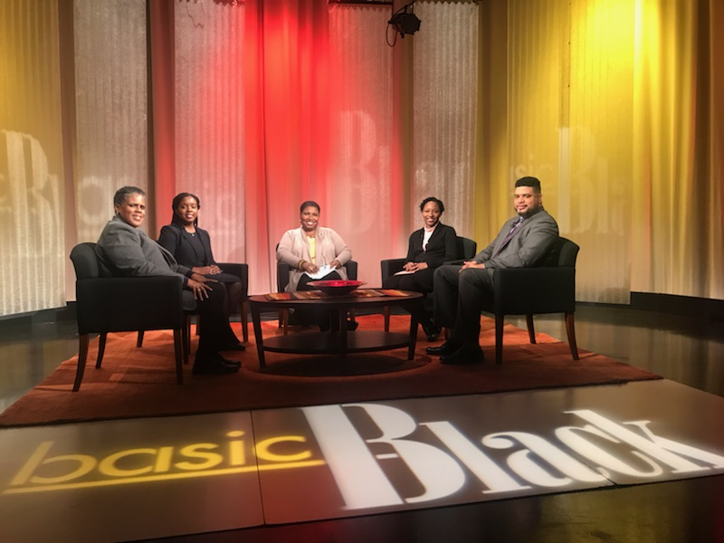 Duane and the rest of the panel on Basic Black Nov 10, 2017