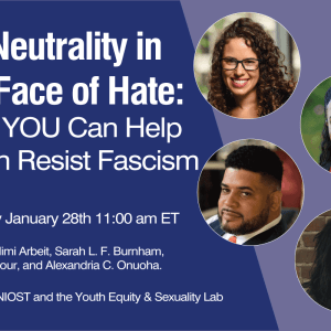 """No Neutrality in the Face of Hate"" Event Thumbnail"