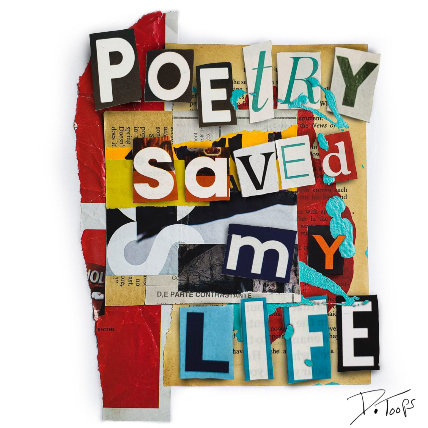 Poetry saved my life…