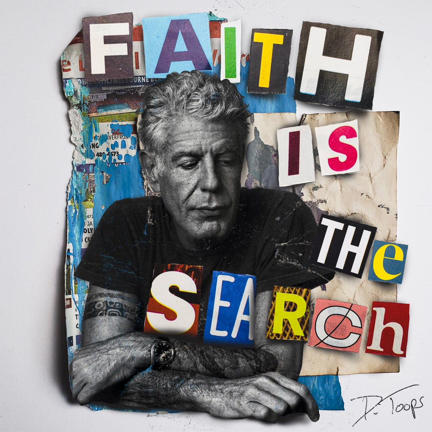 Belonging is an event, Faith is the search…
