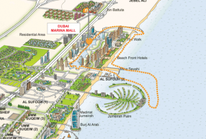 Dubai Marina Ferry Route