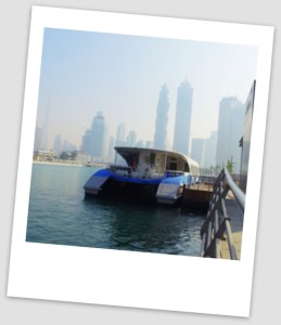 dubai ferry water canal