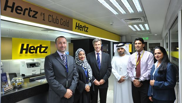 Hertz UAE Club Gold, Dubai Airport