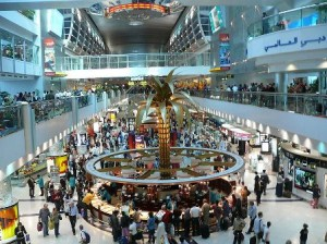 Concourse 1 at Dubai Airport - Terminal 1