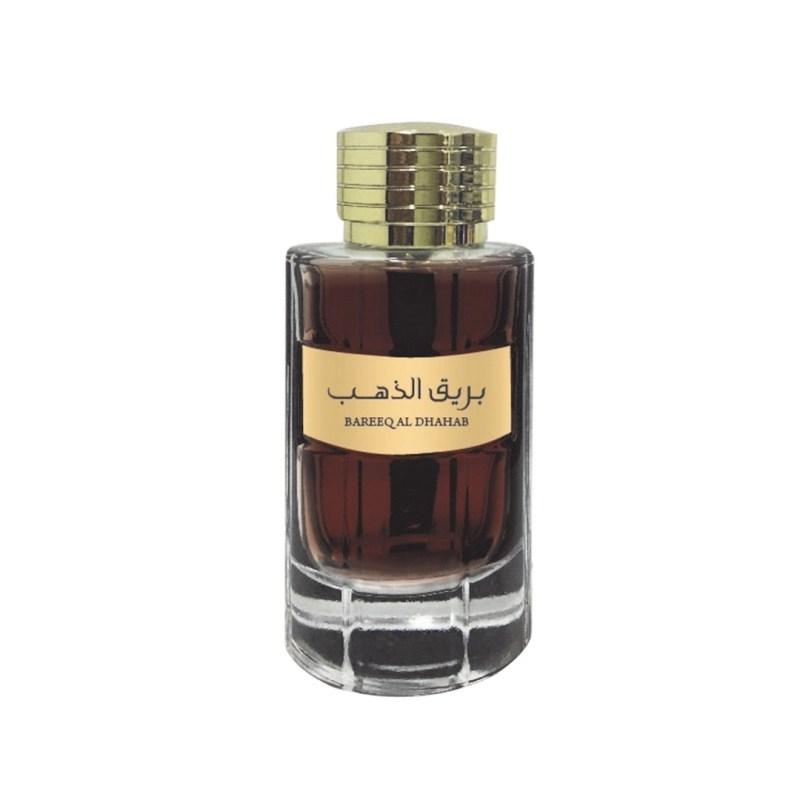 Parfum Oriental Barbatesc Bareeq Al Dhahab cu note lemnoase