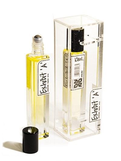 esenta de parfum exhibit roll on fara alcool pentru femei.