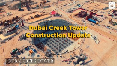 Construction update Dubai Harbour Creek Tower