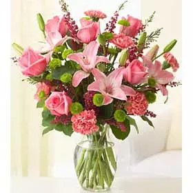 Poetic Pink Flowers for delivery