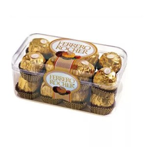 ferrero rocher chocolates with flowers for delivery in Dubai