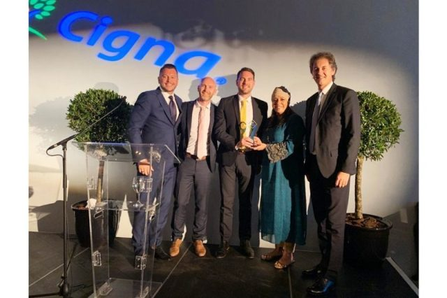 Pacific Prime Dubai Receives Cigna's Individual Broker of the Year 2019 Award