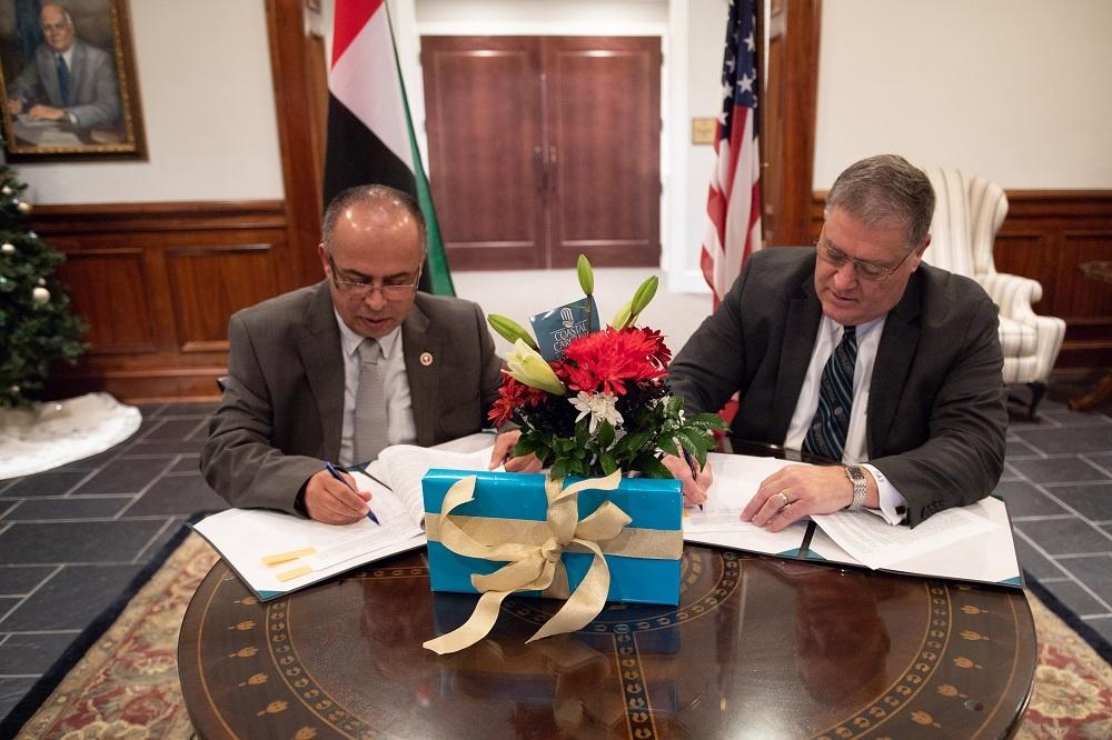 AURAK and Coastal Carolina University Ink Cooperation Agreement