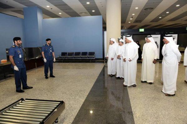 Director General of Dubai Customs hails precautionary procedures at Al Maktoum International Airport