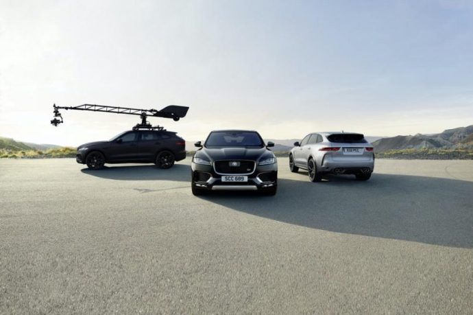 JAGUAR F-PACE GIVES NEW-GENERATION CANON EOS SYSTEM CAMERA ITS FIRST HIGH-PERFORMANCE WORK-OUT