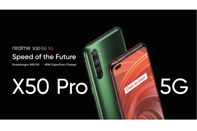 """realme Held the Launch Event with the Theme of """"Speed of the Future"""" to Unveil realme X50 Pro 5G"""