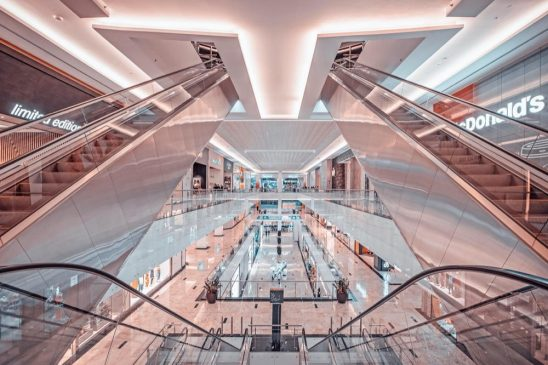 Drones race through state-of-the-art Nakheel Mall on Palm Jumeirah