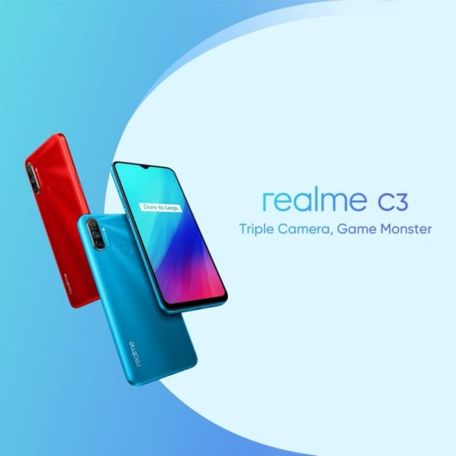 realme Launches Its All New, realme 6Pro and C3