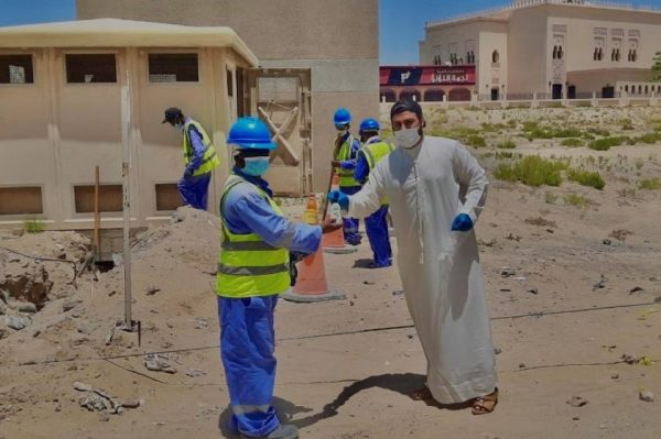 Dabur joins UAE's fight against Coronavirus by distributing free hand sanitisers to front line heroes a