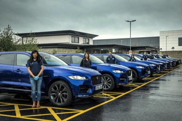 JAGUAR AND LAND ROVER CORONAVIRUS SUPPORT:  Over 360 VEHICLES DEPLOYED GLOBALLY TO SUPPORT EMERGENCY RESPONSE