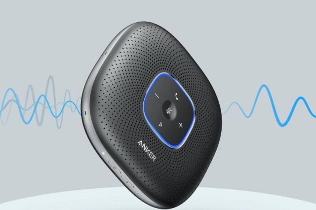 Anker PowerConf Bluetooth Speakerphone Perfect for Home or Office