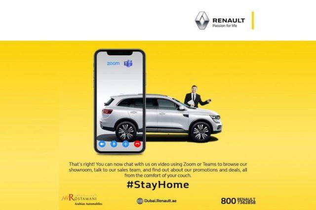 RENAULT of Arabian Automobile seeks customer comfort, launches live sale process