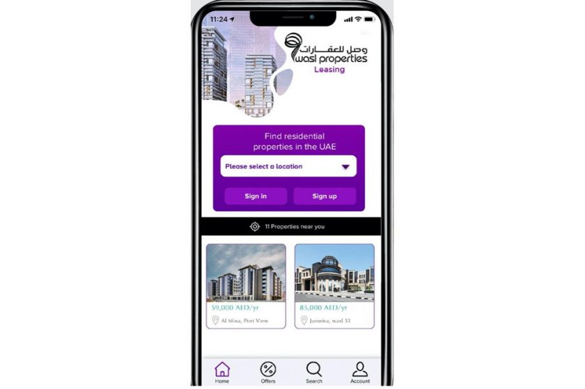 wasl co. launches a new app for there customers