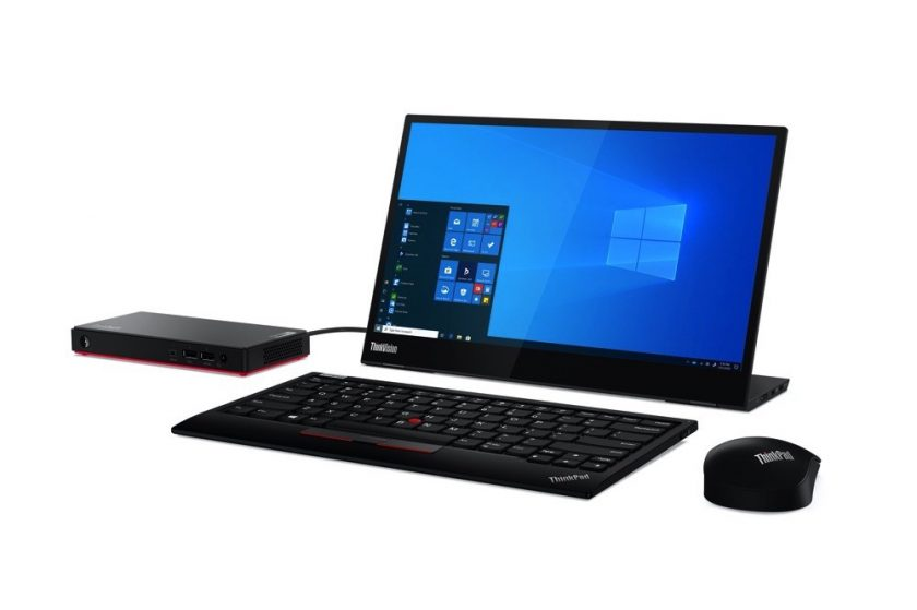 Lenovo Accelerates Portable Productivity with Latest ThinkCentre