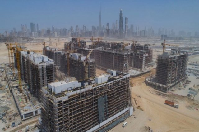 CONSTRUCTION AND INFRASTRUCTURE WORK AT AZIZI'S RIVIERA