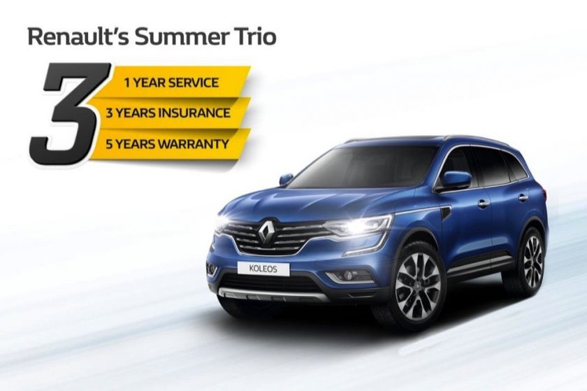 Renault of Arabian Automobiles presents amazing summer offer