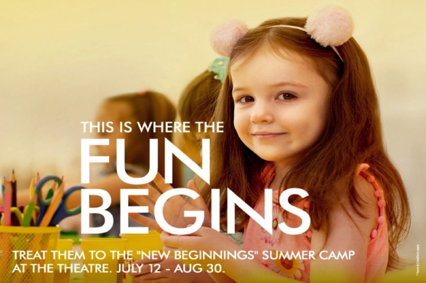 "Mall of the Emirates' ""New Beginnings"" summer camp"