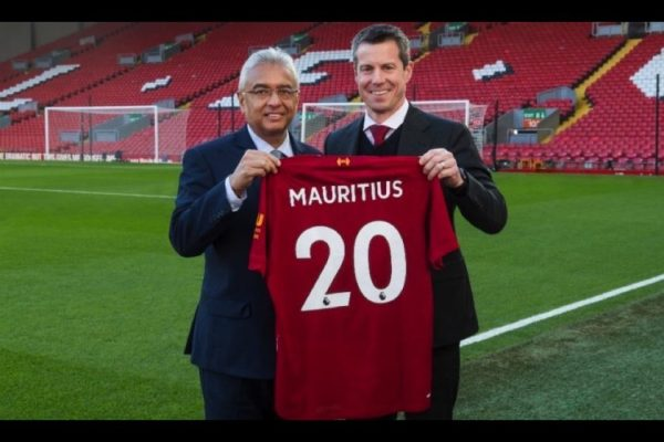 Liverpool FC launches global partnership with Mauritius