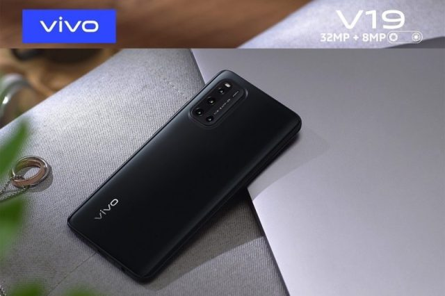 Stay ahead of the game with vivo V19