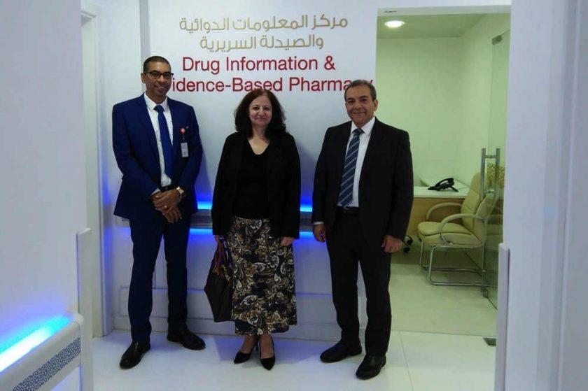 تعزيز التعليم الصيدلي بجامعة الخليج الطبية