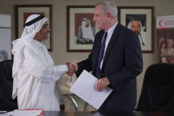EWINGS the managing operator of Emirates Loto donates AED50,000