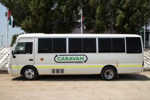 Caravan Expands Ground-Breaking Carlift Bus Services in Dubai