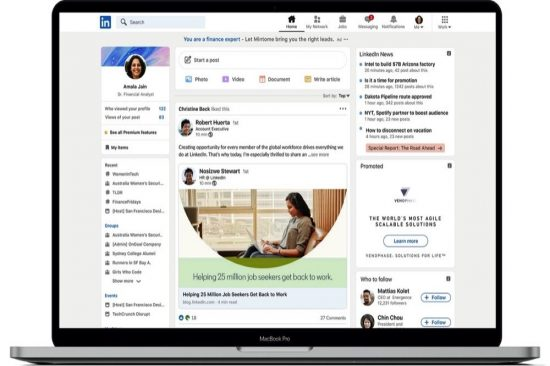 LinkedIn Announces New Design and New Experiences