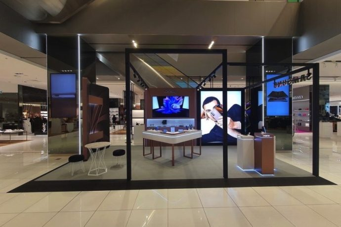 Samsung collaborates with Harvey Nichols
