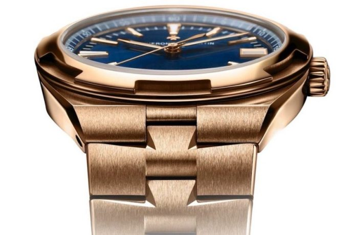 The epitome of sporty elegance, now fully dressed in pink gold