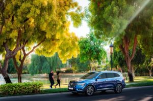 Buy Renault Koleos for AED 39 per day at Arabian Automobiles